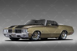 1970 Oldsmobile 442 by VTMG-Engineering