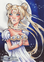 Princess Serenity ACEO by shidonii