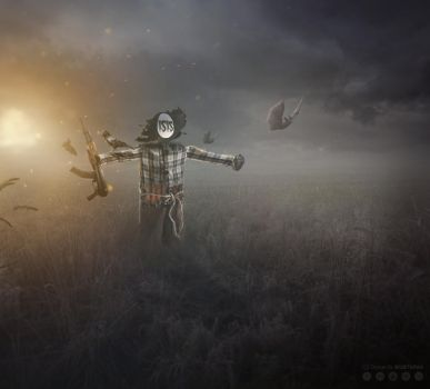 ISIS mere scarecrow by QllM
