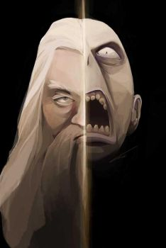 Two faces of the magic by GPinos