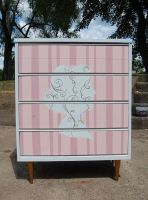 Custom Dresser- French Silhouette by Lamorien
