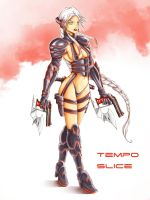 Tempo Slice by MauroIllustrator