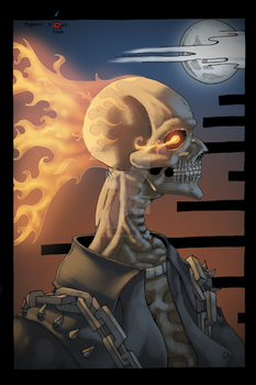 Ghost Rider by EagleGosselin
