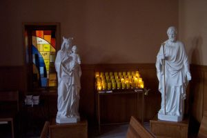 church candles-statues by reznor70-stock
