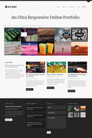 Aware - Responsive Wordpress Portfolio Theme by DarkStaLkeRR