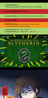 Pottermore- getting sorted by meru-chan
