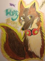 Happy early birthday to Thunder by blazewolf137