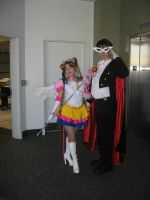 Sailor Moon and Tuxedo Mask by Ambilia-Scriba