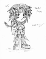 Chibimified Chrno by gloomknight