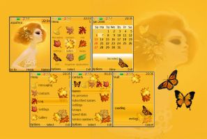 Autumn Nokia s40 Theme by Aquafeya