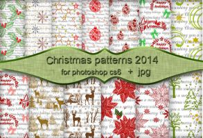 Christmas patterns 2014 by roula33
