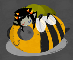 Sollux grub by Cursed-cat
