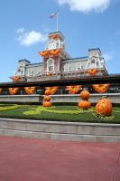Magic Kingdom Halloween 19 by AreteStock