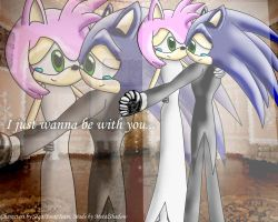 Sonic and Amy in dance by sonamy-fans