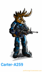 Halo Mashup : Great Prince of Forest by jwolforange13