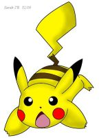 :Pikachu Colored3: by Sarah-the-Monkey