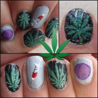 drugs nails by Ninails