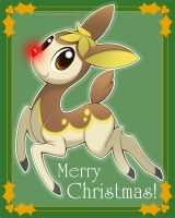 Rudolph the Red-Nosed Deerling by Nyaasu