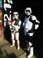 Stormtroopers On Queen Street by Neville6000