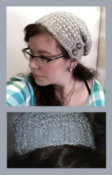 Bliss reflection hat by KnitLizzy