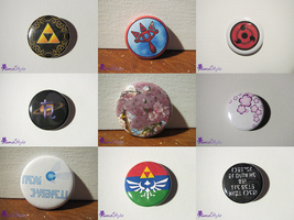 New Button Designs 2015 02 16 by Sarinilli