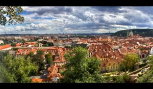 Prague Panorama by chemical-monster9