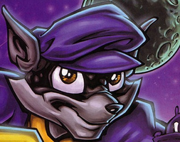 Sly Cooper....MINE by Kingdom-Of-Heart-0