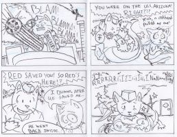 Dick the WWII Cat-Snake-Monster Page 5 by joshthecartoonguy