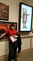 Me At Hershey World. by HunterBrony101