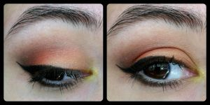 Halloween Inspired Eyeshadow Look by ThinLizzy90