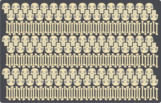 Skull and Bones Pattern by Napoleon6000