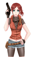 Claire Redfield by Arietiis