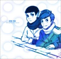 ST-Spock McCoy childhood by Mkb-Diapason