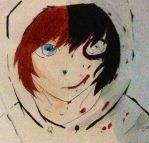 Jeff the killer before and after by anime-freak-2000