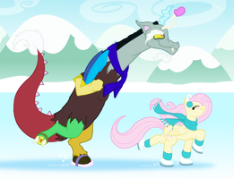 Ice Skating by TheGrumpyTurtle