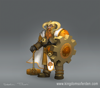 Dwarven general by sebtuch