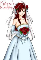 Katarina's wedding by Flonia
