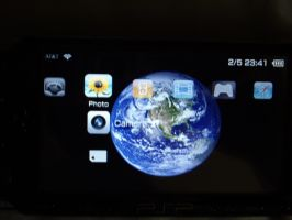 iphone theme for PSP by P-com