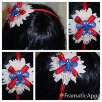 Kyogre Pokemon Headband by TiellaNicole