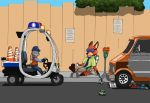 Zootopia - Nick's other hustles by StealthCat15