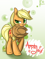 Applejack Print by RCR-Lemontwist
