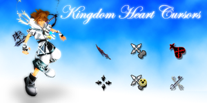 Kingdom Heart 2 Cursors by mewt2o