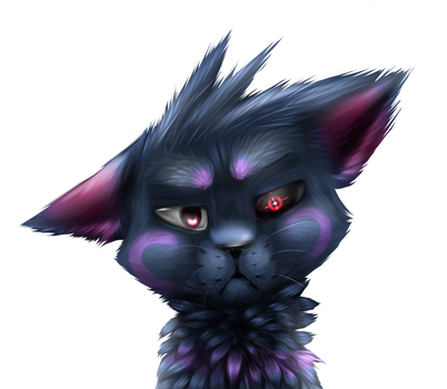 Realistic fur practise by ElectricLuxray