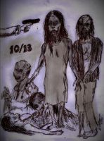 The Walking Dead, October Come She Will 1 by johnfboslet2001