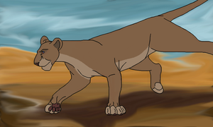 Lioness by naimassparrow101