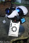 Portal Tablet Case - Aperture Science by Epic-Leather