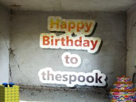 Happy Birthday to the spook by Ambruno