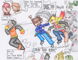 Collab: NEVER Anger Doyle Fans by Flareblade2000
