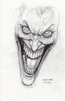 Joker Sketch 11-25-2012 by myconius