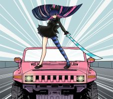 Stocking Vs Truck by KawaINDEX